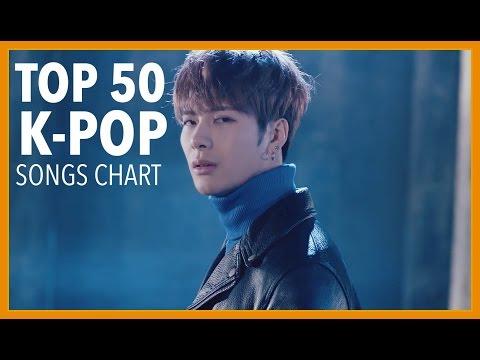 [TOP 50] K-POP SONGS CHART • MARCH 2017 (WEEK 3) (видео)
