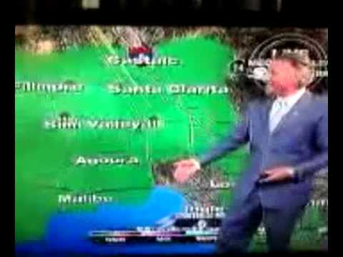 Weatherman fail on Live TV