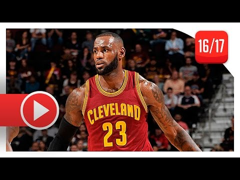 LeBron James Full Highlights vs Rockets (2016.11.01) - 19 Pts, 13 Reb, 8 Ast