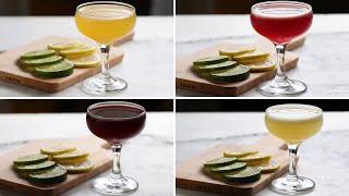 3-Ingredient Cocktails 4 Ways by Tasty