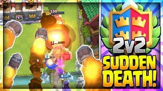 2v2 Sudden Death Challenge Hog Rocket Deck! 9 Win 2v2 Sudden Death Challenge Run! How to get to 9 wins!~~~Free Gems: http://mistplay.co/shane ~~ Invite Code: ShaneWhat do you guys think is the best 2v2 sudden death challenge deck? let me know in the comments!Click here to Subscribe: http://www.youtube.com/channel/UCTsFqvFocRsP6YmdzPdHwCw?sub_confirmation=1Follow me on Twitter: https://twitter.com/CLASHwith_SHANEJOIN MY CLANS:Clan 1: CHILLwithSHANEClan 2: CLANwithSHANE__________________________________________________________If you enjoyed the video, please like and subscribe. New Clash Royale Content every day!Clash Royale  Clash Royal Gameplay & Strategy  Clash Royale Tips Tricks GuidesIntro Music: Jetta - I'd Love to Change the World (Matstubs Remix)Outro Music: Hey Now by MK2Thanks for watching! Have an awesome day!