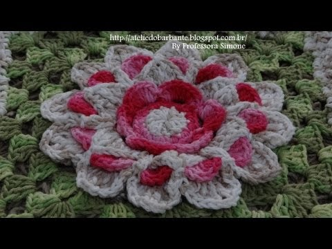 Passo a passo Mega Flor Azaleia Parte-1