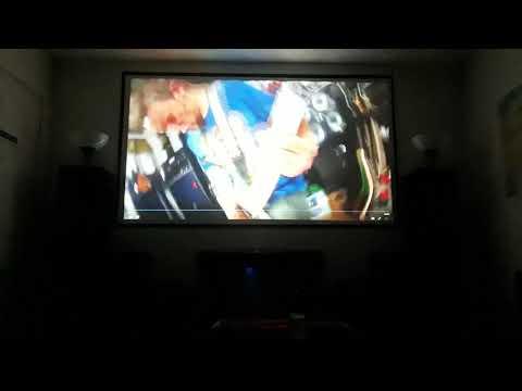 New projector screen