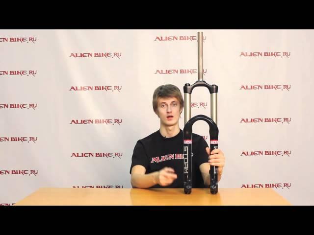 Купить Вилка RST Storm - 170 мм - QR в веломагазине Alienbike
