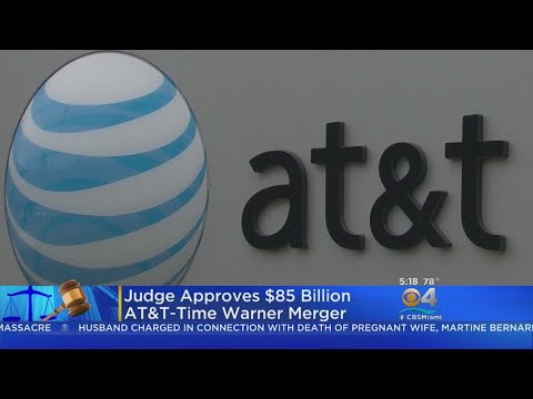 Federal Judge Approves AT&T's Acquistion Of  Time Warner
