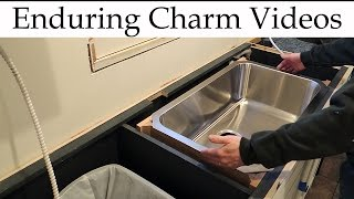 Some natural stone countertops require an independent support frame for undermount sinks.  Anchors or epoxy are not viable.  In this video I'll show my solution for a strong and adjustable support frame.  The example is for a stainless steel sink under a soapstone countertop.
