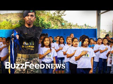 Meet The Honduran Army's Playground Recruits