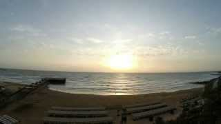 GoPro sunrise time lapse, Bilgah - Azerbaijan.