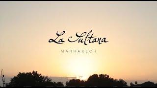 Initial frame of La Sultana Marrakech video