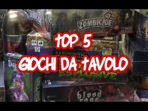 Giochi da Tavolo: TOP 5!