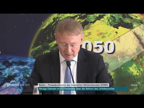 Pressekonferenz des Deutschen Wetterdienstes zur Wett ...