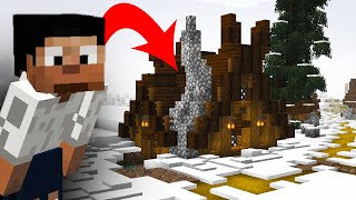 The Perfect Snowy Nordic House :: Minecraft 1.14 Building with BdoubleO
