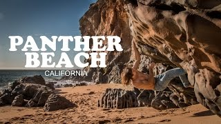 CHRIS SHARMA & POL ROCA U.S. ROAD TRIP, PANTHER BEACH, CALIFORNIA by Chris Sharma