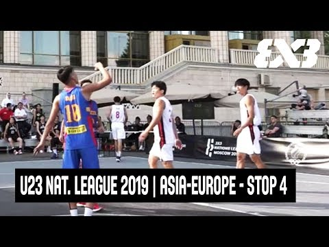 LIVE 🔴 - FIBA 3x3 U23 Nations League 2019 | Asia-Europe - Stop 4 - Moscow, Russia