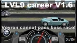 Drag Racing Complete Level 9 Career Bugatti Veyron 16.4 With 1 Tune Setup