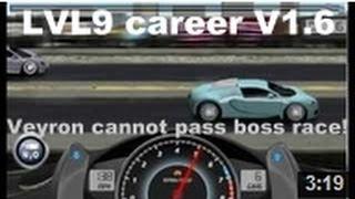 Drag Racing Complete Level 9 Career Bugatti Veyron 16.4 With 1 Tune Setup