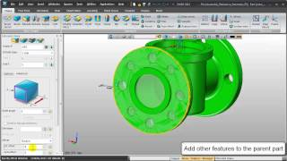 Assembly New Reference Geometry for Interpart Modeling