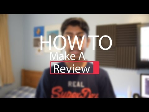 How To Make A Tech Review