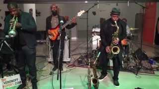 Lineup: Marcus Strickland (Sax; http://marcusstrickland.com/) Keyon Harrold (Trumpet) Mitch Henry (B3 organ/keyboards) Big Yuki Hirano (Keyboards) Kyle Miles...