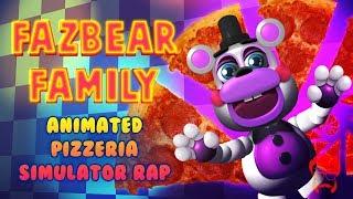 Download Lagu FAZBEAR FAMILY | Animated Pizzeria Simulator Rap! Mp3