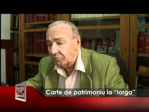 """Carte de patrimoniu la """"Iorga"""""""