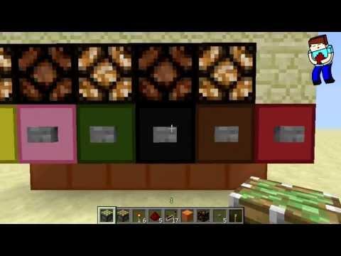 [Minecraft] Урок 91: Кнопочная панель с дисплеем!