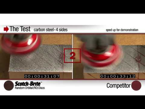 Scotch Brite™ Random Orbital Discs