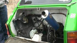 Powtórka z Azotów - Fiat 126p - silnik CBR