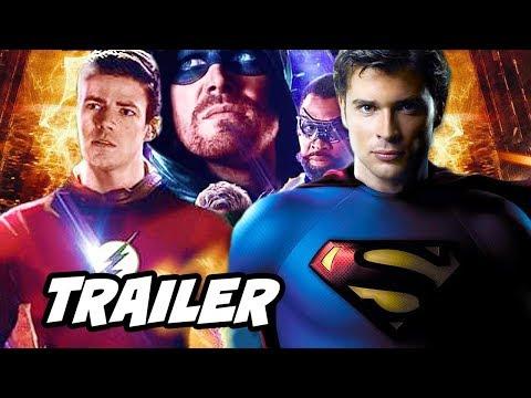 The Flash Season 6 Trailer Arrow Crisis On Infinite Earths Breakdown