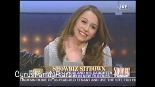 """Miley Cyrus very first interview as """"Hannah Montana"""" February 2006"""