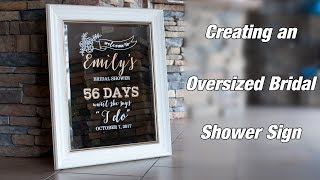 Join Lisa as she creates a custom and unique bridal shower sign/mirror. Give the bride to be the perfect gift customized to her. FDC Crystal White - http://therhinestoneworld.com/Main-Category/Sign--AND--Decal-Materials/Subcategory-1/FDC-Sign-Vinyl/Subcategory-2/Intermediate-4200-Sign-VinylFor supplies, education, and much more, visit our site:http://www.therhinestoneworld.com/Like our Facebook for the latest updates on us:https://www.facebook.com/therhinestoneworldGive us a call at 941-755-1696 or email to info@therhinestoneworld.comWe look forward to helping you soon!
