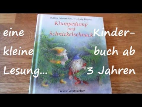 Klumpedump und Schnickelschnack, eine kleine Lesung, Kinderbuch ab 3 Jahren / SanjaNatur