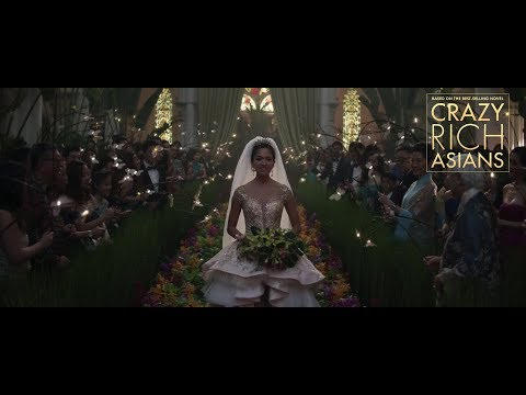 Wedding scene from Crazy Rich Asians