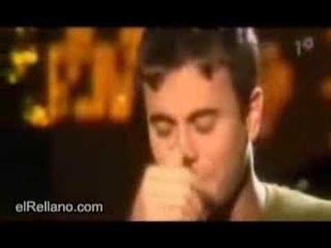 Enrique Iglesias no puede cantar