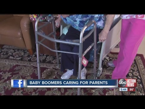 Baby Boomers face challenges when bringing an aging parent into their home