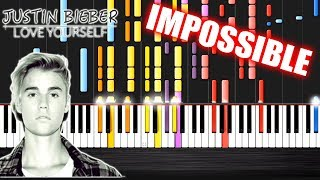 Justin Bieber - Love Yourself - IMPOSSIBLE PIANO