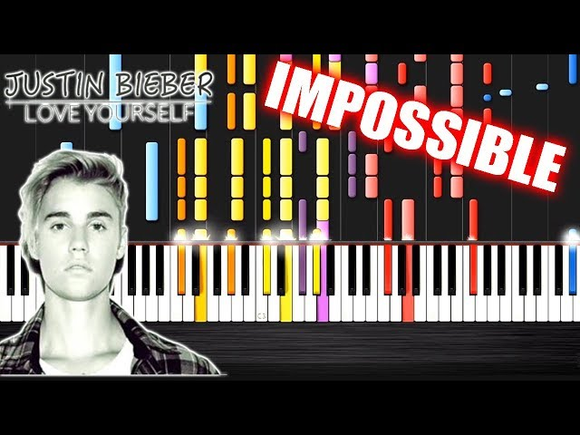 how to play love yourself by justin bieber on piano