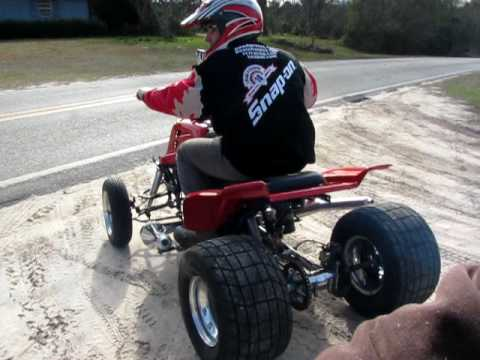 YAMAHA BANSHEE STREET DRAG TEST AND TUNE  TRANSFORMERS