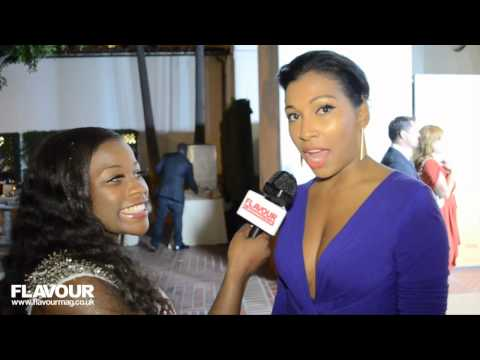 Melanie Fiona Full interview On the Red Carpet at 2012 BET Awards