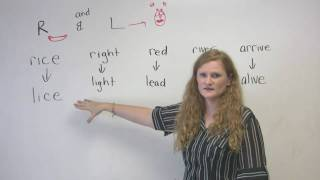 English Pronunciation - R&L