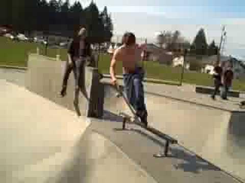 weekend of shred at port angeles skatepark