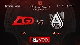 LGD.cn vs Alliance, game 1