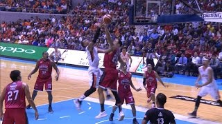 Jumping Japeth Aguilar Rejects Newsome! | PBA Governors' Cup 2016