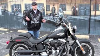6. Pre-Owned 2011 Harley-Davidson Softail Fatboy Lo