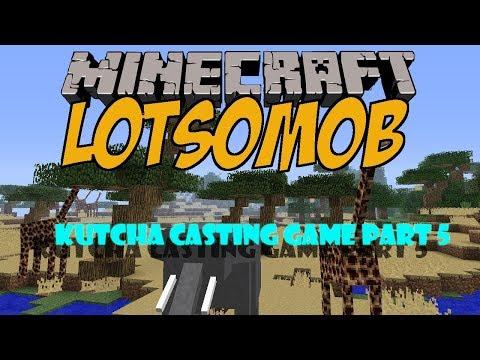 Minecraft Mod LotsOMobs Part 5 ผจญภัยโลกไดโนเสาร์