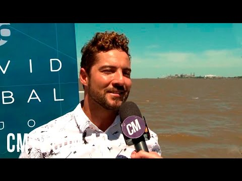 David Bisbal video Hijos del Mar - Entrevista Argentina 2016