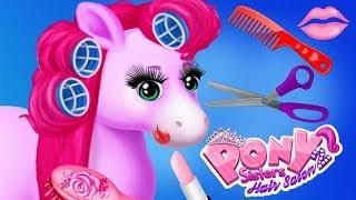 Video Fun Animal Horse Care - Pony Sisters Hair Style, Colors Beauty Salon Dress Up Makeover Kids Games MP3, 3GP, MP4, WEBM, AVI, FLV Januari 2019