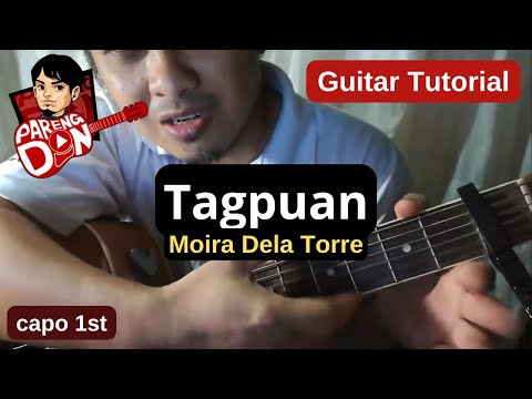 Chords: TAGPUAN Guitar Tutorial – Moira Dela Torre – for beginners