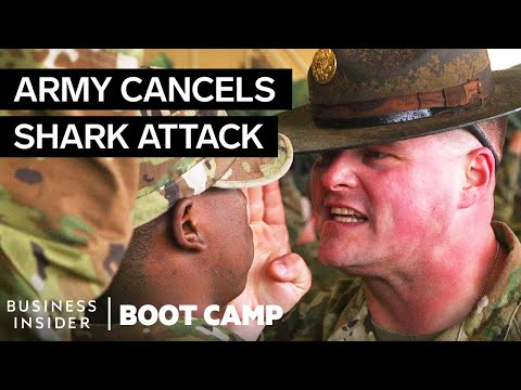 Why The Army Canceled The 'Shark Attack' Tradition At Boot Camp | Boot Camp