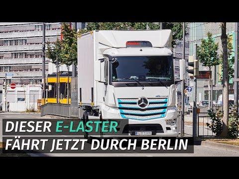 Daimler Nutzfahrzeuge: Dieser e-Laster fährt jetzt du ...
